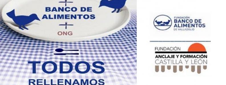 La Fundación Anclaje colabora con el Banco de Alimentos