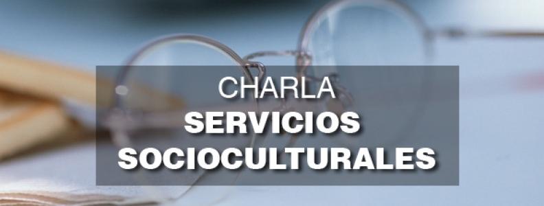 Charla Servicios Socioculturales. San Leonardo de Yagüe. 2 de junio 2015